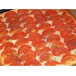 Фокачча со свежими томатами