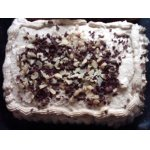 Торт ореховый со сливочным муссом