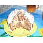 Шоколадно-ванильный пасхальный кулич