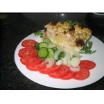 Пирог из курицы и цветной капусты