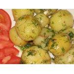Молодой картофель в сливочном масле