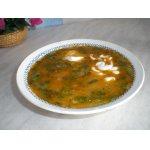Холодный рыбный суп на рассоле