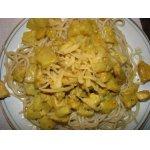 Курица карри с ананасами в сливках