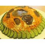Салат из маслят с морковкой по-корейски
