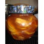 Варенье яблочное Янтарное в карамели с белым шоколадом