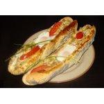 Горячие бутерброды Лодочки