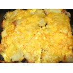 Горбуша запеченная с картофелем и грибами