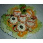 Закусочные тарталетки Три салата