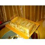 Торт мужу Слиток золота
