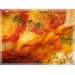 Картофельно-тыквенная лазанья