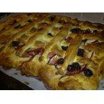 Яблочно-вишнeвый пирог