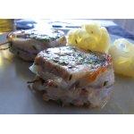 Свиное филе с ароматными травами