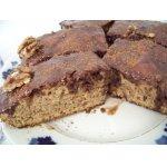 Шоколадный кекс с грецкими орехами
