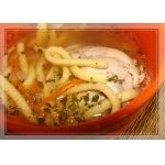Луковый суп с лапшой