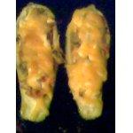 Фаршированые кабачки Овощная лодочка