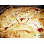 Вишнево - яблочный пирог