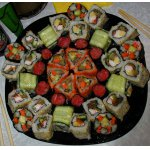 Роллы - скромный ужин на две персоны