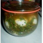 Перепелиные яйца в соусе