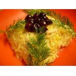 Салат из репы «Фруктово-ягодная «Репка »
