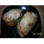 Куриная грудка, фаршированная креветками и арахисом
