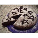 Шоколадный торт с маком