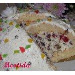 Торт-десерт Снежное лакомство