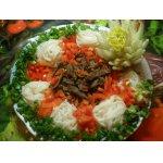 Теплый салат с фунчезой