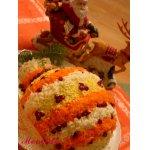 """Закусочный тортик """"Новогодняя традиция"""""""
