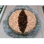 """Салат """"Тигровый глаз"""" – кулинарный рецепт"""