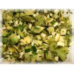 Салат Этюд в зеленых тонах