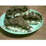 Двухслойное пирожное