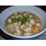 Суп-пюре из фенхеля с миндальным орехом