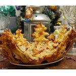 Салат Новогодний в хрустящем салатнике