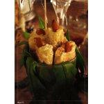 Закусочные свечки из лука-порея
