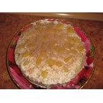 Классический французский бисквит со сметанным кремом и ананасами