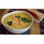 Кокосовый суп с креветками по-тайски