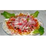 Крабовый салат Зимняя хризантема