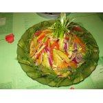 Салат по-американски «Новогодний фейерверк»