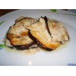Баклажаны с курицей и сыром