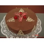 Ананасовый торт с белково-сливочным суфле