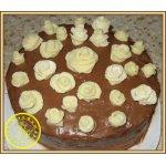 Бисквитный торт 21... роза
