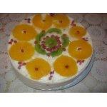 Торт Фруктовая легкость