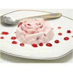 """Творожно-вишнeвый холодный десерт """"А-ля мороженое"""""""