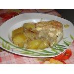Картофель с курицей в рукаве