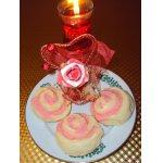 Пирожные Розы для Танюшки