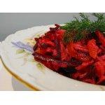 Свекольный салат с грушей
