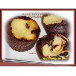 Шоколадные маффины с крем-чизом