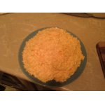 Салат из моркови и плавленого сыра