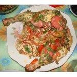 Курица в помидорах