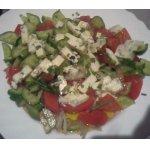 """Салат """"сыр на овощах"""""""
